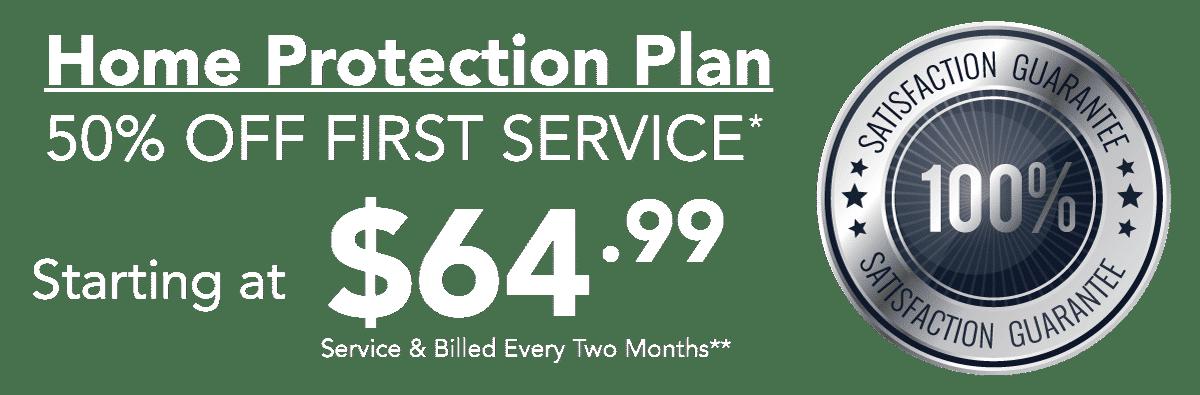 50% off pest control offer